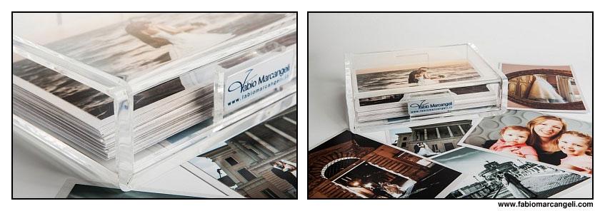 Un box in plexiglass per il tuo album da Matrimonio