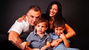Foto di famiglia in studio Book Fabio Marcangeli